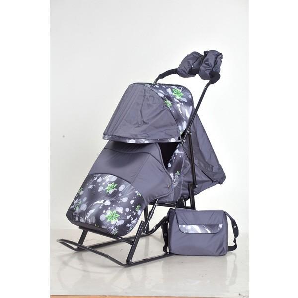 Санки коляска Kristy Luxe Plus