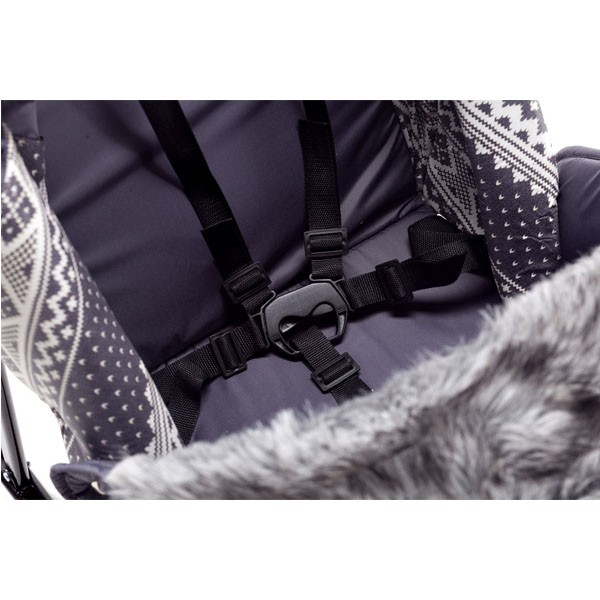 Санки коляска Kristy Premium Soft Plus