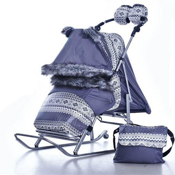Санки-коляска Kristy Premium