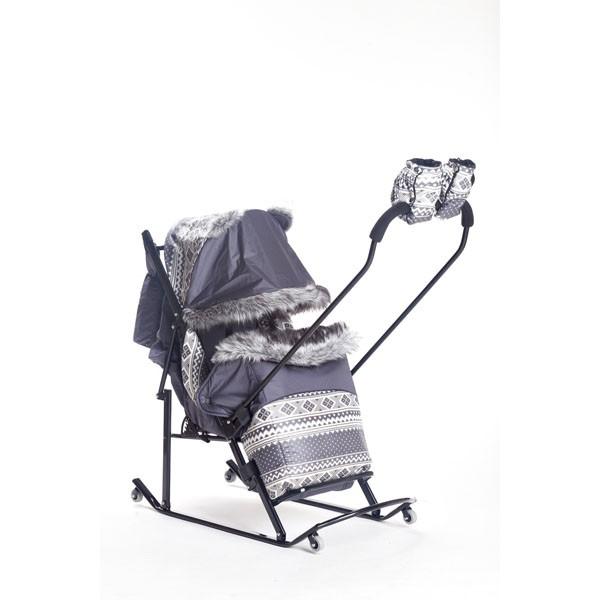 Санки-коляска Kristy Premium Extra