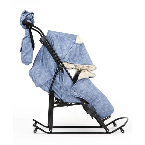 Санки-коляска Kristy Premium Plus
