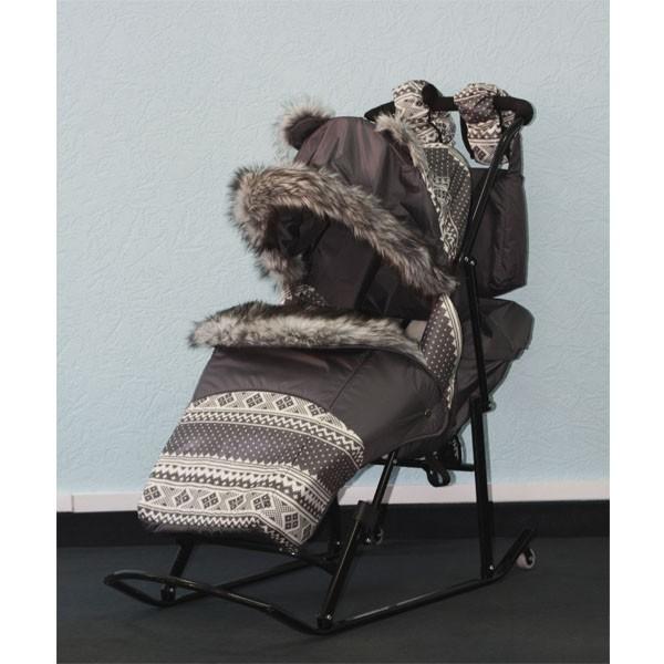 Санки-коляска Kristy Premium Soft