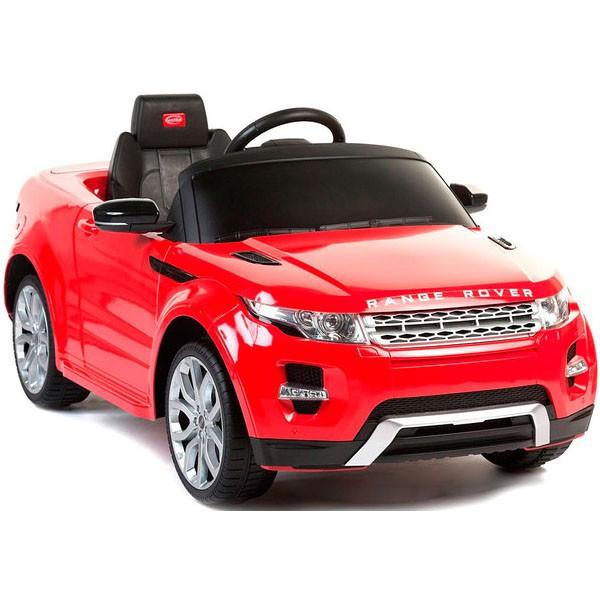 Детский электромобиль на радиоуправлении Rastar Range Rover Evoque красный