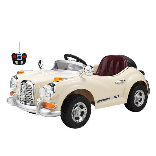Ретромобиль Bentley-S2 12v7AH радио управляемый цвет жасмин