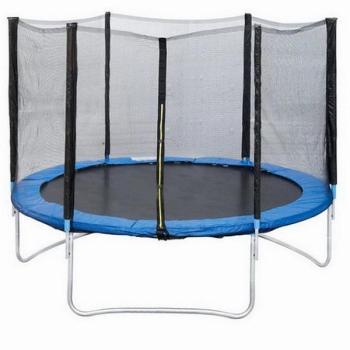 Батут с защитной сеткой Trampoline 14 диаметр 4,3 м
