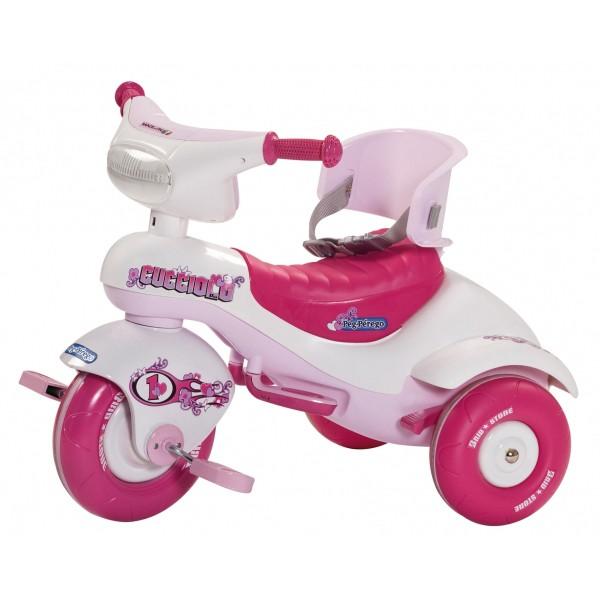Велосипед трехколесный Cucciolo Pink Peg Perego